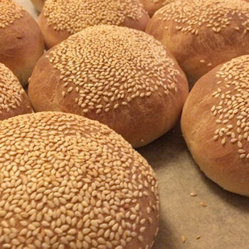 Burgerboller - opskrift på lækre burgerboller til fx. pulled pork - online opskriftsamling