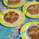 Rabarbertærte med marcipan