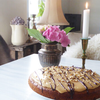 lækker banan/valnøddekage - online opskrift