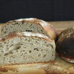 Ølandbrød med æblesurdej