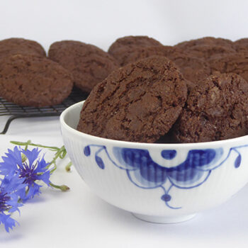 dobbelt chokolade cookie - online opskrift