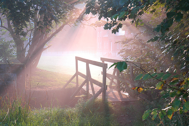 Dollerup en tidlig morgen