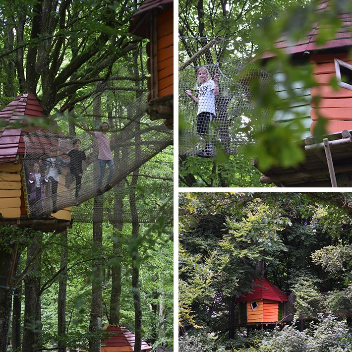 wow-park - leg oppe i træerne