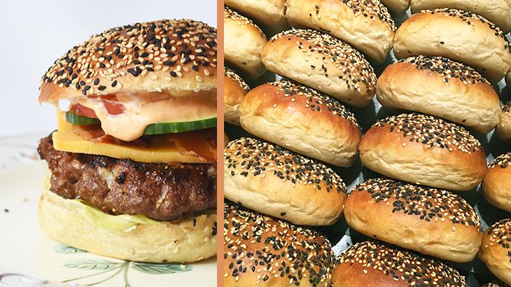 burgerboller - find opskriften på tantestrejf.dk
