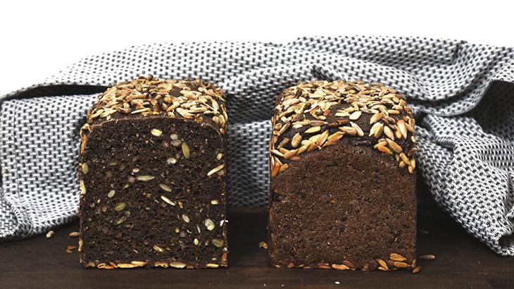Rugbrød med surdej og uden hvede