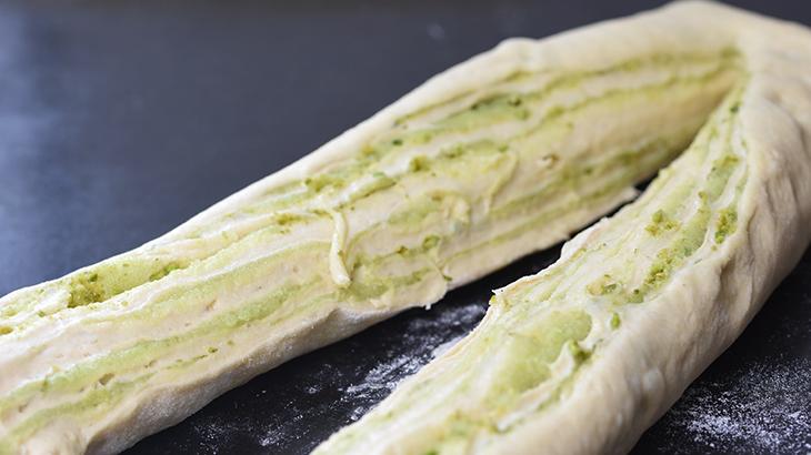 Pistacie babka kage-brød - fremgangsmåde