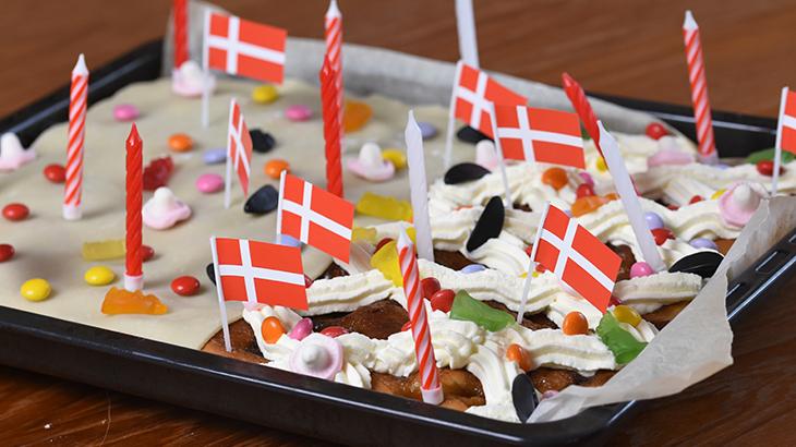 brunsviger - fødselsdagskage - kagemand