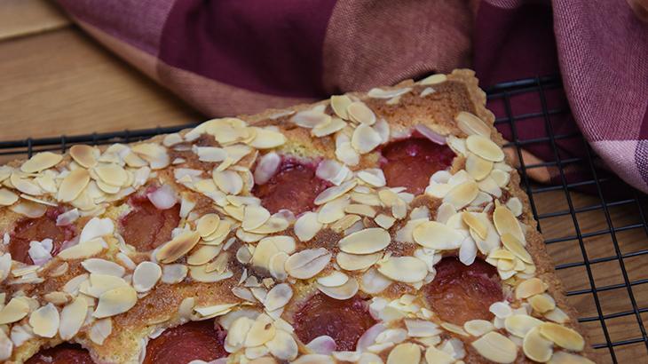 blommetærte med mazarinfyld - online opskrift