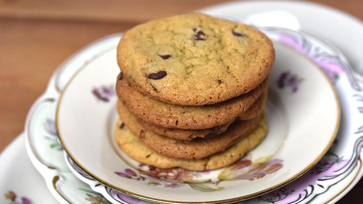 chokolade cookie - bedste opskrift - tantestrejf.dk
