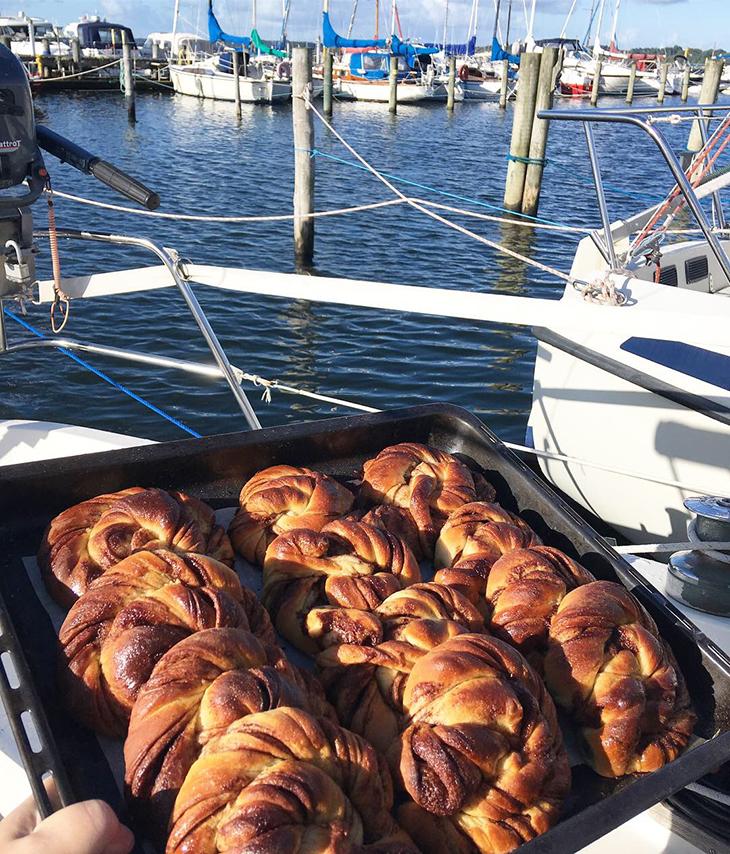 Kanelsnurre - morgenmad på Martha