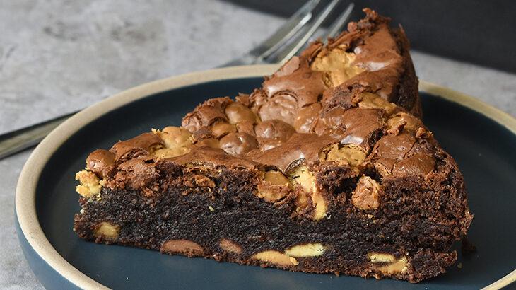 Triple chocolate brownies - opskrift - tantestrejf.dk