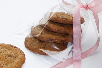 Cappuccino cookies med mørk chokolade - find opskrift her