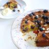 kage - blåbær-appelsinkage - opskrift på tantestrejf