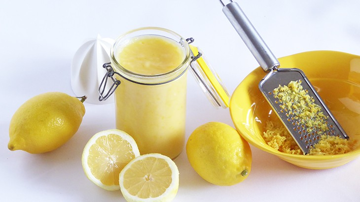 hjemmelavet lemon curd - opskrift tantestrejf
