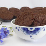 Dobbelt chokolade cookies