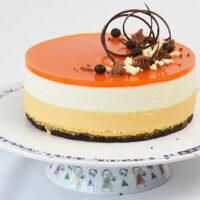 Cheesecake med Havtornmousse