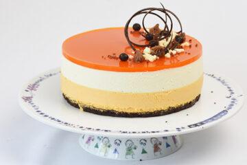 cheesecake med havtornmousse - opskrift
