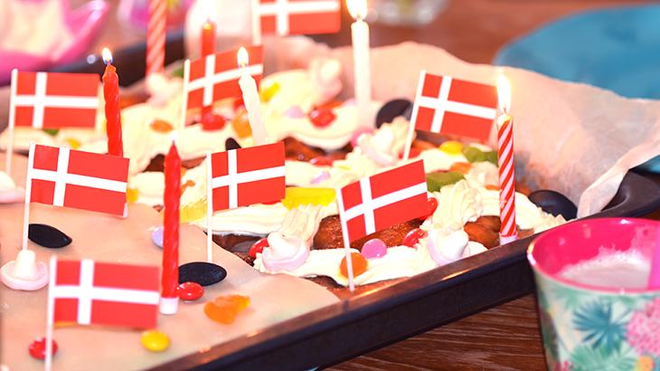 brunsviger - kagemand - fødselsdagskage