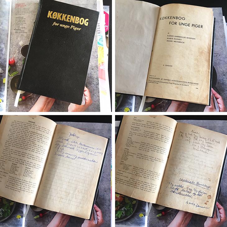 Køkkenbog for unge piger