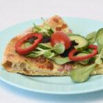 Pizza med ølandshvede – Tarte flambée