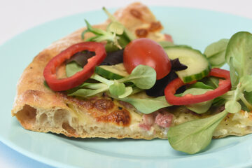 Tarte Flambée - fransk pizza - opskrift - tantestrejf.dk