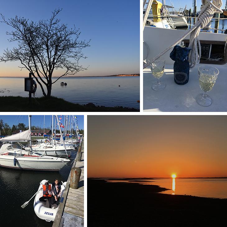 Sejltur og weekend ved Virksund lystbådehavn