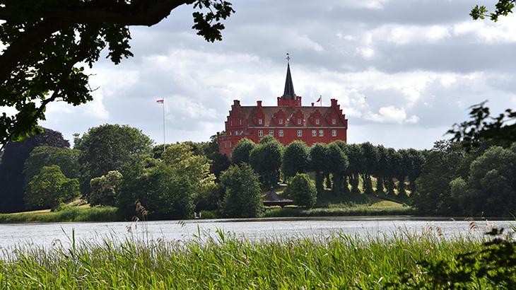 Langeland - Tranekær slot