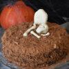 Græskarkage - Halloween - opskrift - tantestrejf.dk