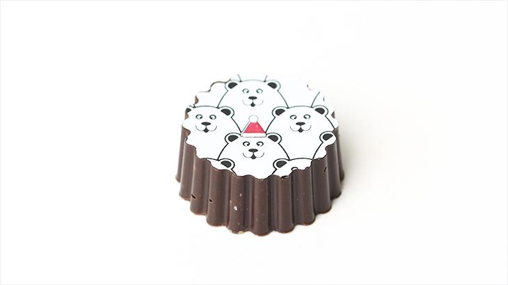Fyldt chokolade med karamel med havsalt - Tantestrejf.dk