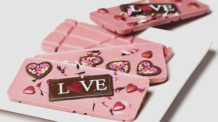Ruby chokolade til valentinesdag