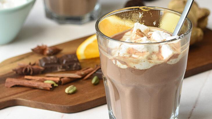 julekryderet varm chokolade