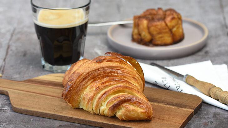 croissant med smør