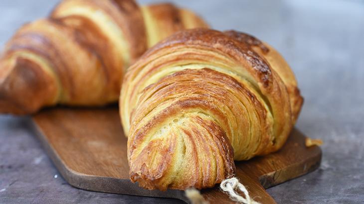 Hjemmebagt croissant