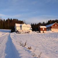 Nytårsferie i Norge + snobrød med bacon