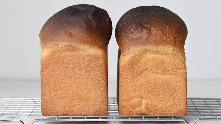 Bageenzymer.. det ene brød har tilsat bageenzym.. kan du gætte hvilket?