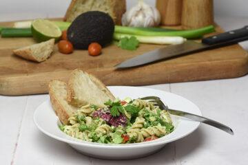 cremet avocado pastasalat